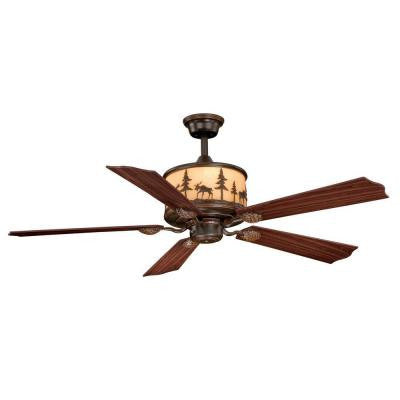 Yellowstone 56 in. Burnished Bronze Ceiling Fan