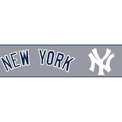 Boys Will Be Boys II 6 in. New York Yankees Border