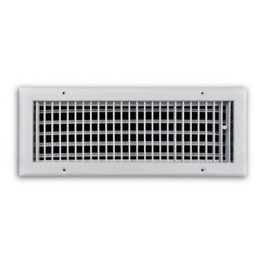 18 in. x 6 in. Adjustable 1 Way Wall/Ceiling Register