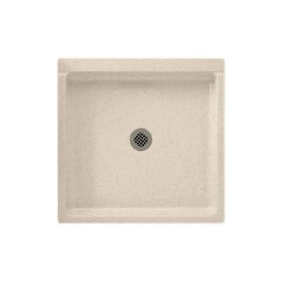 32 in. x 32 in. Solid Surface Single Threshold Shower Floor in Tahiti Sand