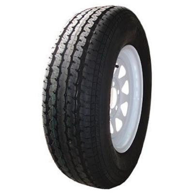 8 Spoke White 50 PSI ST175/80R13 and 13 in. x 4.5 in. 5-4.5HD 6-Ply Tire and Wheel Assembly