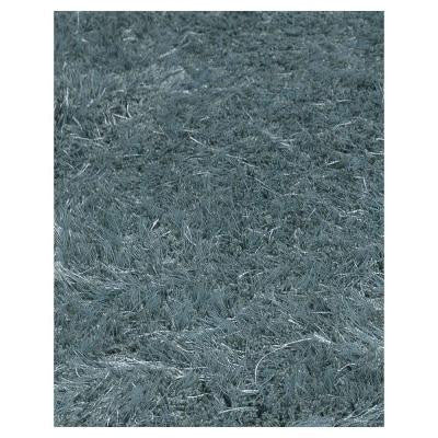Grandeur Shag Green 5 ft. x 7 ft. Area Rug