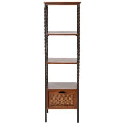 Olivia Etagere 4-Shelves Storage Unit
