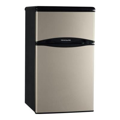 3.1 cu. ft. Mini Refrigerator in Silver Mist