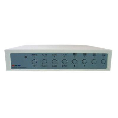 4-Channel Processor with Alarm and Remote