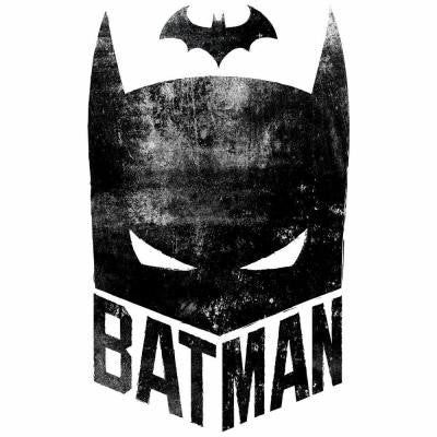 2.5 in. W x 21 in. H Batman Mask 2-Piece Peel and Stick Giant Wall Graphic