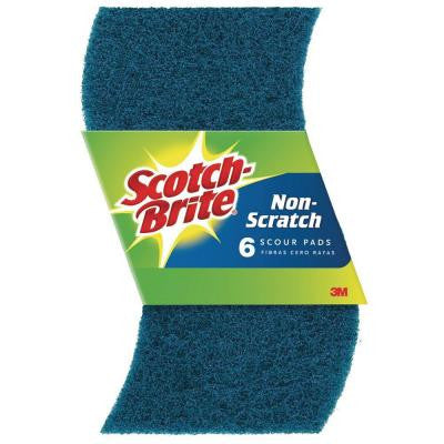 Non-Scratch Scour Pads (6-Pack)