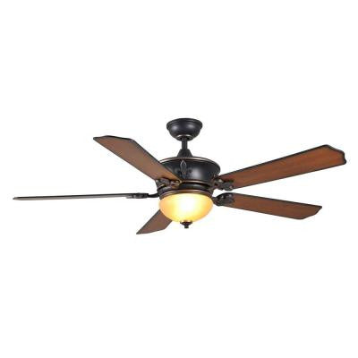 Royal Breeze 60 in. Tarnished Bronze Ceiling Fan