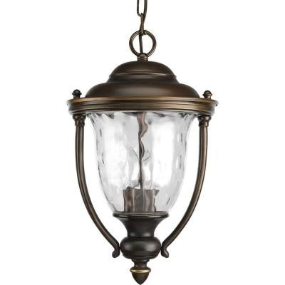 Prestwick Collection 2-Light Outdoor Oil Rubbed Bronze Hanging Lantern