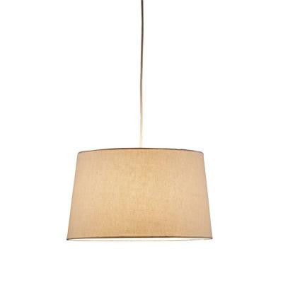 Harvest Tapered 1-Light Natural Drum Pendant