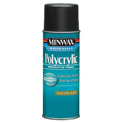 11.5 oz. Semi-Gloss Polycrylic Protective Aerosol Spray (6-Pack)