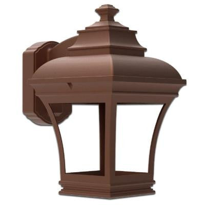 Altina Hammered Copper Outdoor Wall-Mount Lantern