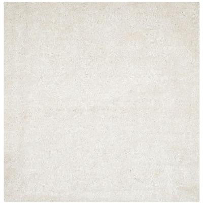New Orleans Shag Off White 7 ft. x 7 ft. Square Area Rug