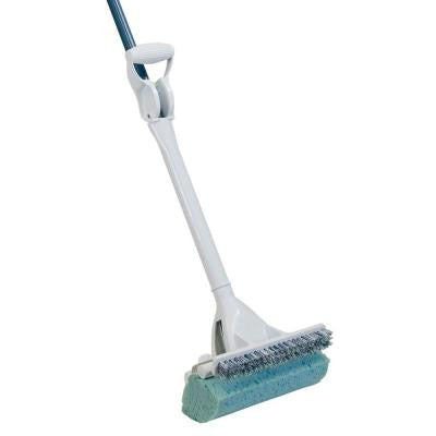 Mop and Scrub Roller Mop with Scrub Brush and Microban