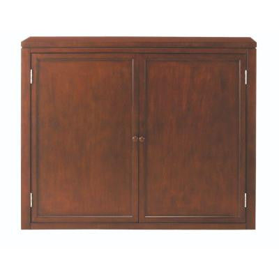 Craft Space 42 in. W Storage Hutch in Sequoia