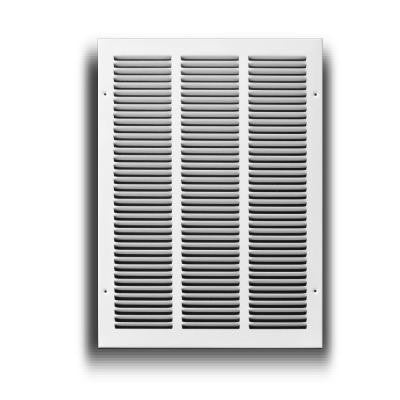 14 in. x 20 in. White Return Air Grille
