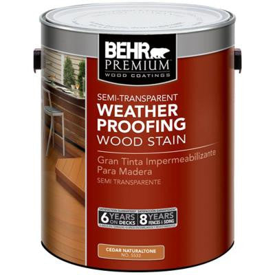 1-gal. Cedar Naturaltone Semi-Transparent Weatherproofing Wood Stain