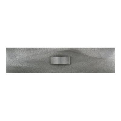 Urban Metals Stainless 3 in. x 12 in. Composite Geo Liner Wall Tile