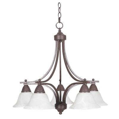 Martindell 5-Light Oil-Rubbed Bronze Chandelier