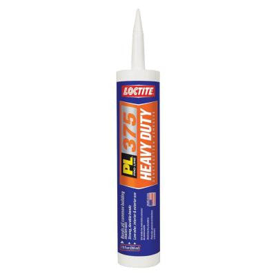 10 fl. oz. PL 375 Heavy Duty Construction Adhesive