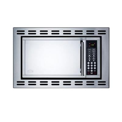 0.9 cu. ft. Built-In Microwave in Stainless Steel