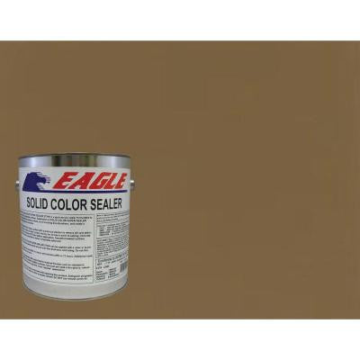 1 gal. Chocolate Solid Color Solvent Based Concrete Sealer