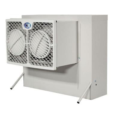 2800 CFM 2-Speed Front Discharge Window Evaporative Cooler for 600 sq. ft. (with Motor)