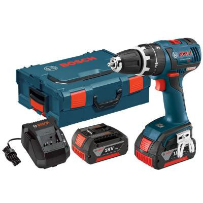 18-Volt Lithium-Ion 1/2 in. Cordless EC Brushless Compact Tough Hammer Drill/Driver
