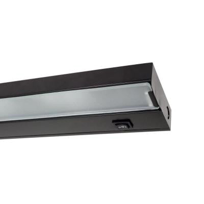 NICOR 21.5 in. Xenon Black Under Cabinet Light Fixture