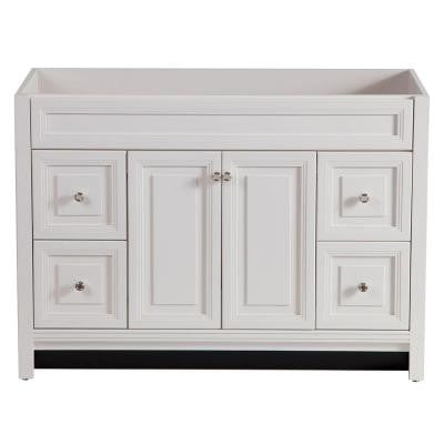 Brinkhill 48 in. Vanity Cabinet Only in Cream