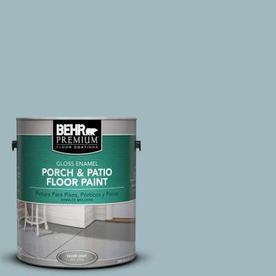1-gal. #PFC-52 Polar Drift Gloss Porch and Patio Floor Paint