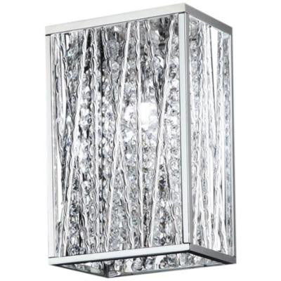 Lawrence 1-Light Chrome Halogen Sconce