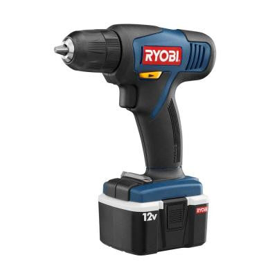 Reconditioned 12-Volt Cordless Ni-Cad Drill Kit