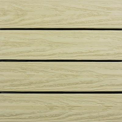 UltraShield Naturale 1 ft. x 1 ft. Outdoor Composite Quick Deck Tile in Sahara Sand (10 sq. ft. per box)