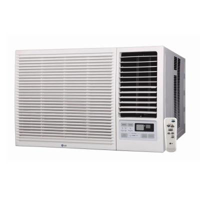18,000 BTU Window Air Conditioner with Cool, Heat and Remote