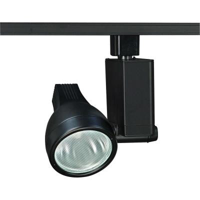 1-Light Black Track Lighting Head