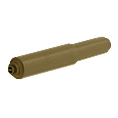Replacement Double Post Toilet Paper Roller in Antique Brass