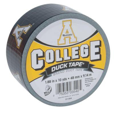 College 1-7/8 in. x 30 ft. Appalachian State Duct Tape (6-Pack)