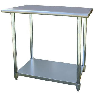 24 in. x 36 in. Stainless Steel Utility Work Table