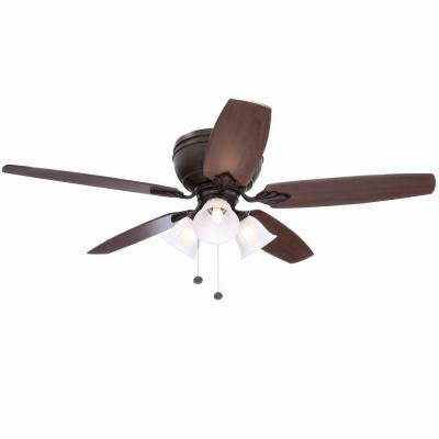 Chastain II 52 in. Oil Rubbed Bronze Ceiling Fan