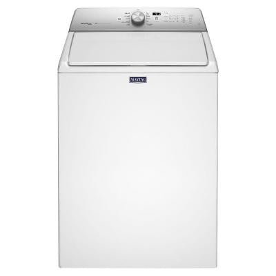 4.8 cu. ft. High-Efficiency Top Load Washer with Steam in White, ENERGY STAR