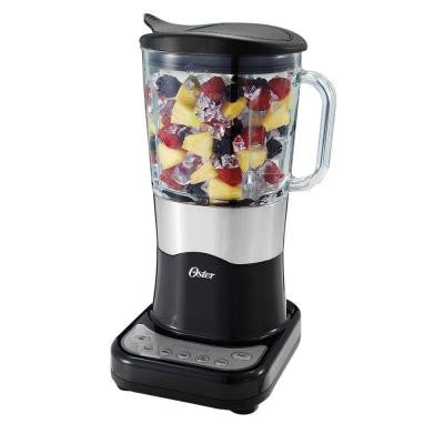 6-Speed Pre-Programmed Blender with 7-Cup Glass Jar in Black