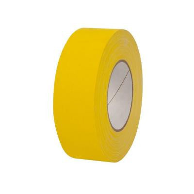 2 in. x 55 yds. Yellow Gaffer Industrial Vinyl Cloth Tape (3-Pack)
