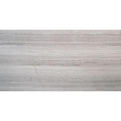 White Oak 12 in. x 24 in. Polished Limestone Floor and Wall Tile (10 sq. ft. / case)