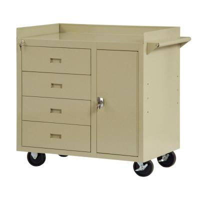 36 in. W x 22 in. D Workbench with Storage