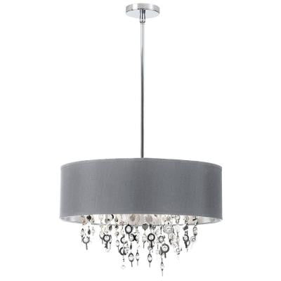 Picabo 8-Light Polished Chrome Chandelier