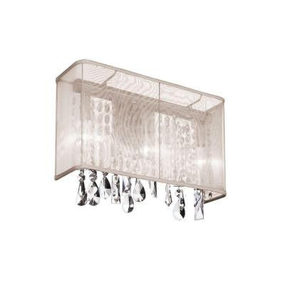 Jonelle 1-Light Polished Chrome Sconce