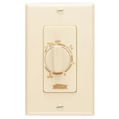 20 Amp 12-Hour In-Wall Control Timer - Ivory