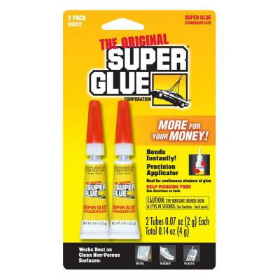 .07 oz. Glue, (2) .07 oz. Tubes per card (12-Pack)