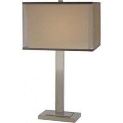 Cierra 29 in. Brushed Nickel Table Lamp